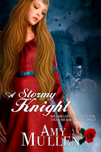 A Stormy Knight - A Medieval Romance Novel by Amy Mullen