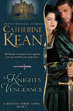 Romance novel cover for A Knight's Vengeance by Catherine Kean
