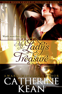 My Lady's Treasure - medieval romance novel by Catherine Kean