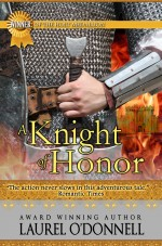 Medieval Romance Novel Cover for A Knight of Honor