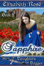 Sapphire by Elizabeth Rose - a medieval romance novel
